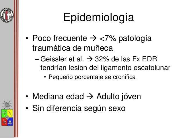 Generalidades • Causa  Post-traumatica • Mecansimo de lesión – Mediana – alta energía • Diagnóstico tardío 25% – Manejo i...