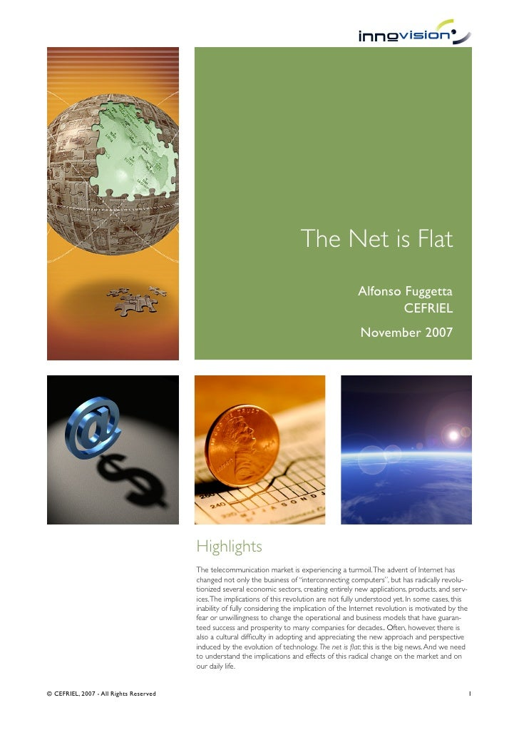 The Net is Flat                                                                                                 Alfonso Fu...