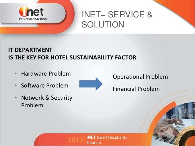 Inet Smart Hospitality Solution 2017