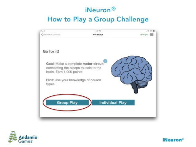 iNeuron® iNeuron How to Play a Group Challenge ®