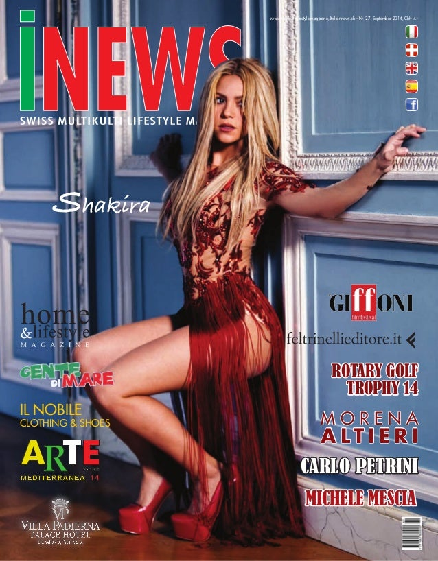 swiss multikulti lifestyle magazine, Italiannews.ch - Nr. 27 September 2014, Chf- 4.-  Il nobile  CLOTHING & SHOES  ROTARY...