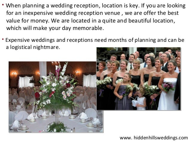 Inexpensive Wedding Reception Venues