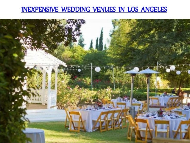 inexpensive wedding venues in los angeles