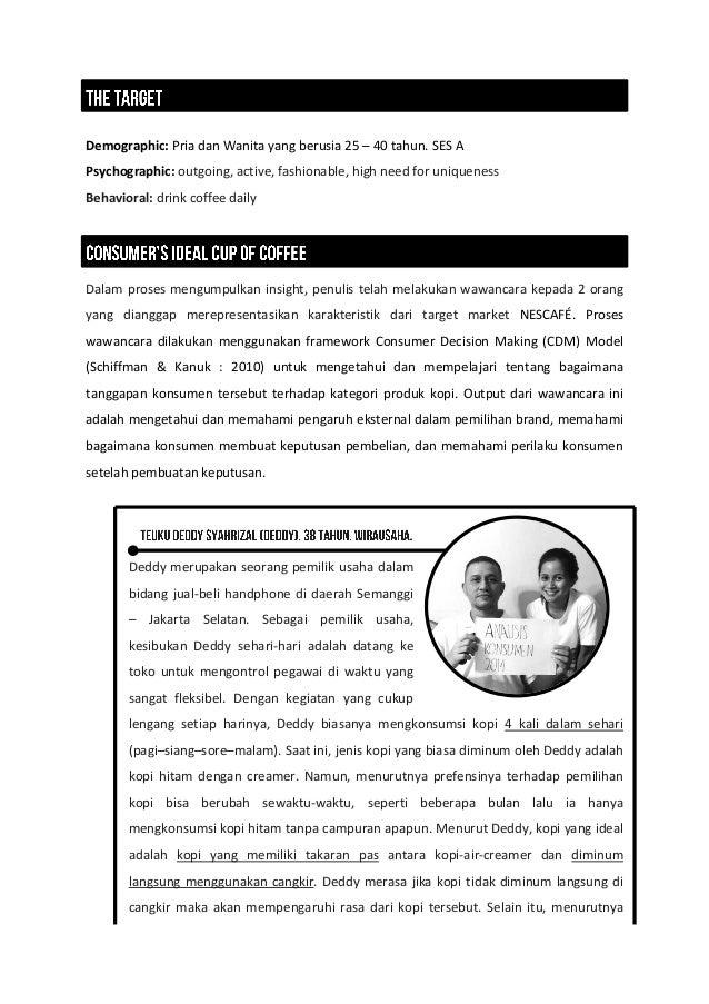 Nescafé Innovation - Consumer Behaviour Class Slide 3