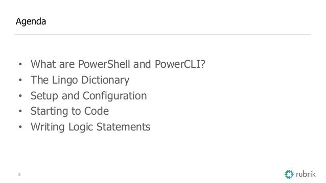VMworld 2016: Getting Started with PowerShell and PowerCLI for Your V…