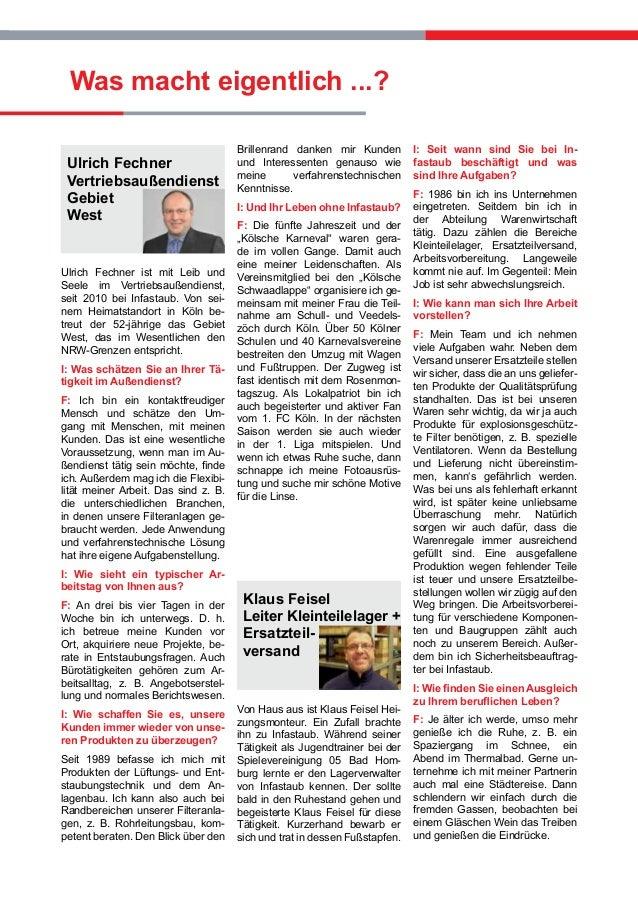 Ulrich Fechner Vertriebsaußendienst Gebiet West Ulrich Fechner ist mit Leib und Seele im Vertriebsaußendienst, seit 2010 b...