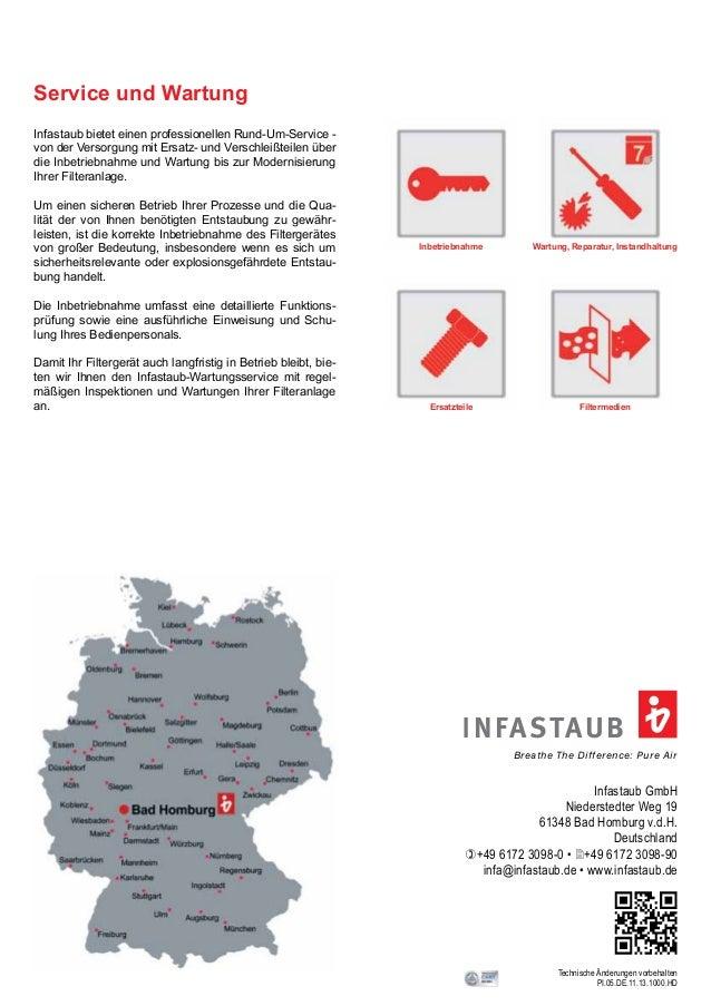 Inbetriebnahme  INFASTAUB  Breathe The Difference: Pure Air  Infastaub GmbH  Niederstedter Weg 19  61348 Bad Homburg v.d.H...