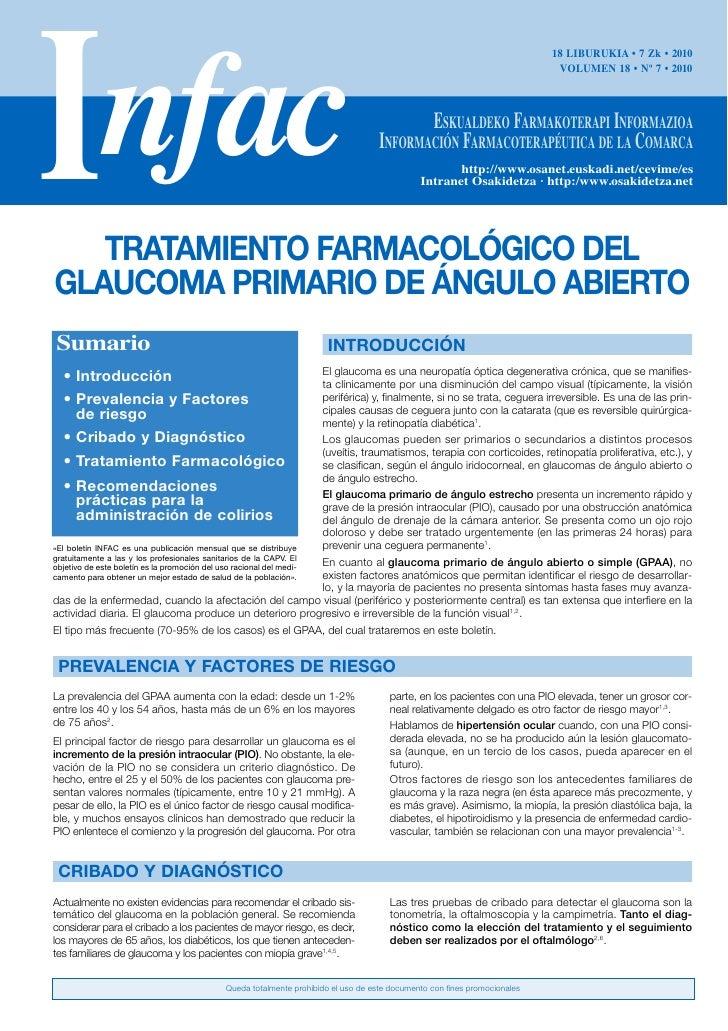 Glaucoma obert