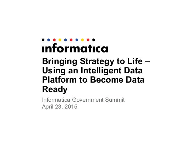 Bringing Strategy to Life: Using an Intelligent Data