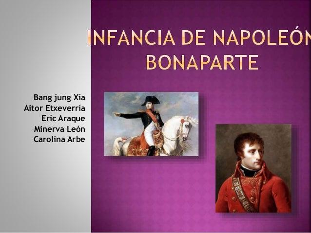 Bang jung Xia Aitor Etxeverría Eric Araque Minerva León Carolina Arbe