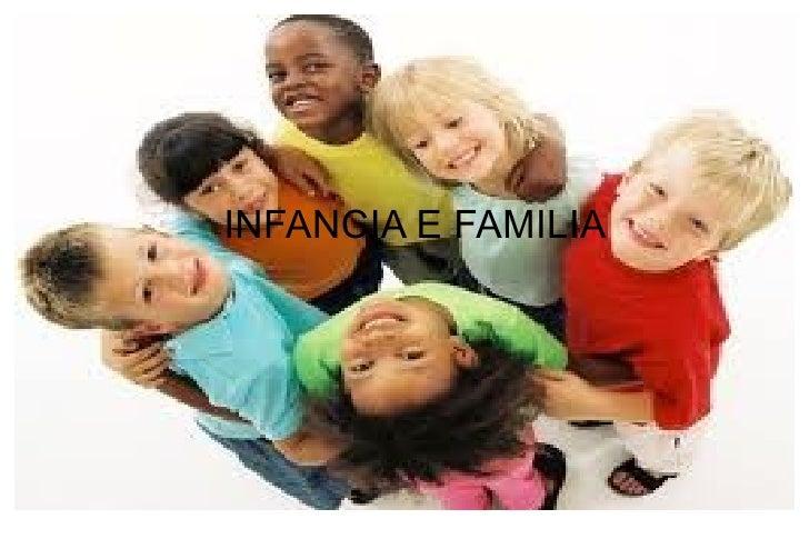 INFANCIA E FAMILIA