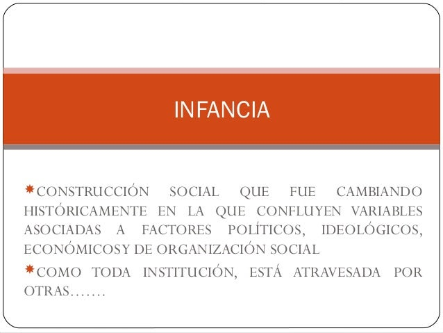 CONSTRUCCIÓN SOCIAL QUE FUE CAMBIANDO HISTÓRICAMENTE EN LA QUE CONFLUYEN VARIABLES ASOCIADAS A FACTORES POLÍTICOS, IDEOLÓ...