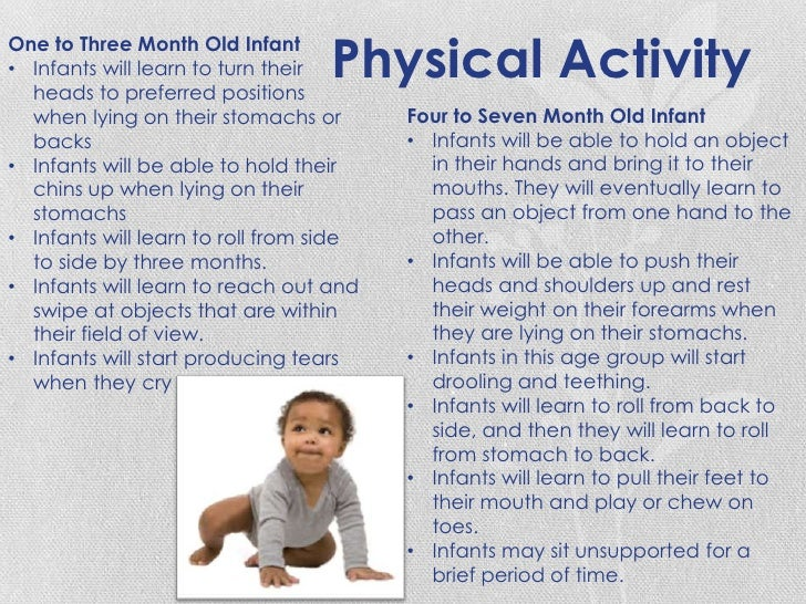 observation 9 month old Developmental stages in infant and toddler feeding 03 parents often ask health professionals when their  as two weeks and as old as nine months of age1.