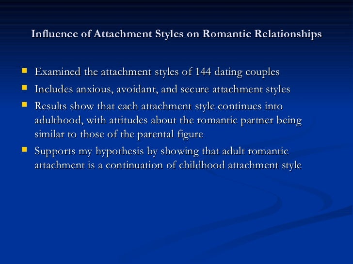 Fearful avoidant attachment dating