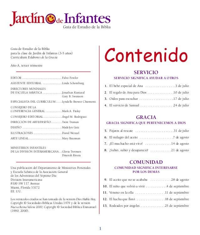 Infantes   Folleto alumnos   Escuela Sabática para Menores   Tercer t…