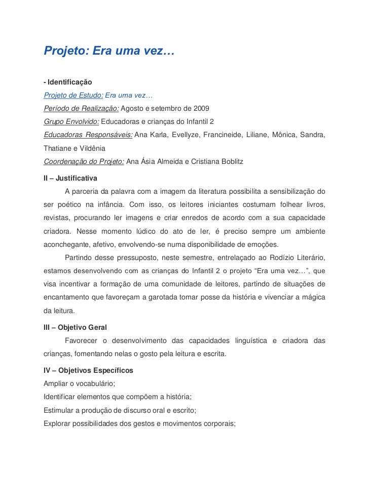 Amado Projetos Educação Infantil ES86