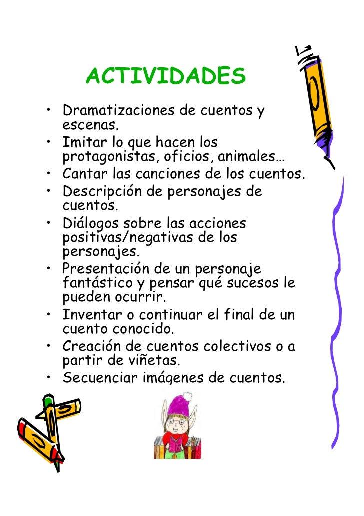 Plan lector en infantil for Actividades para el salon
