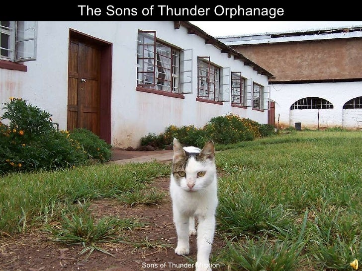 The Sons of Thunder Orphanage Sons of Thunder Mission