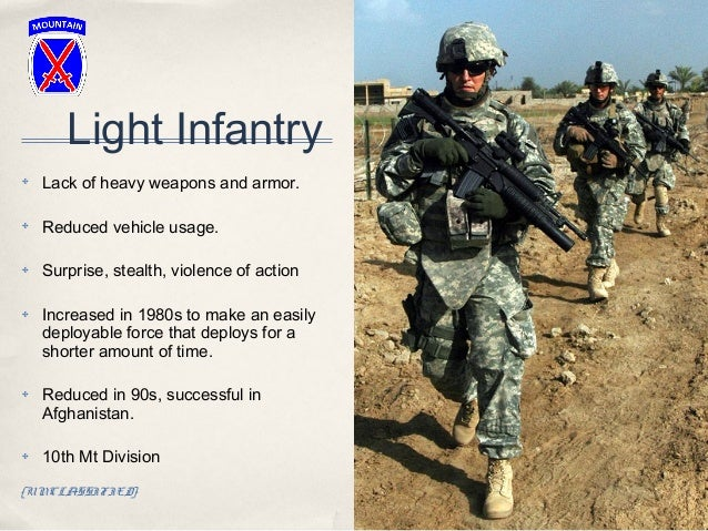 US Military Infantry Branch