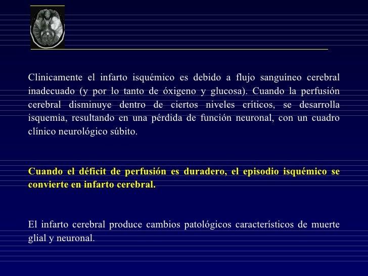 Infarto Cerebral Agudo Slide 2