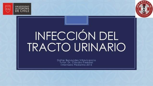 C INFECCIÓN DEL TRACTO URINARIO Dafne Benavides Villavicencio Tutor: Dr. Claudio Paredes Internado Pediatría 2015