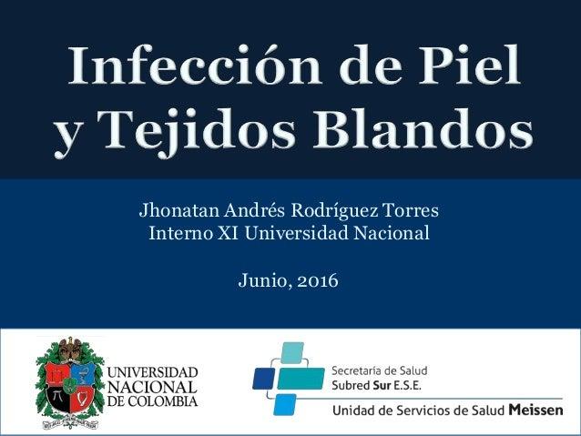 Jhonatan Andrés Rodríguez Torres Interno XI Universidad Nacional Junio, 2016