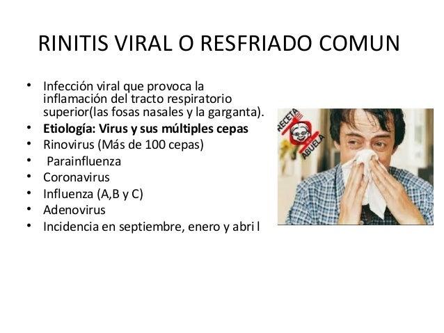 Infecciones de vias respiratorias
