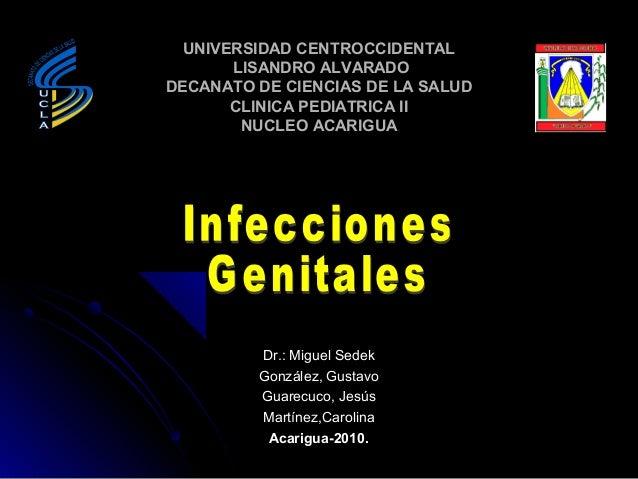 UNIVERSIDAD CENTROCCIDENTAL       LISANDRO ALVARADODECANATO DE CIENCIAS DE LA SALUD       CLINICA PEDIATRICA II        NUC...