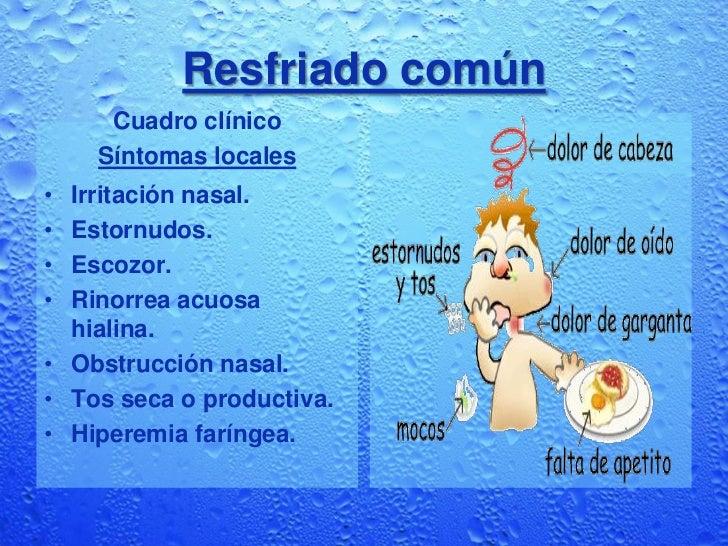 Etiologia del resfriado comun pdf