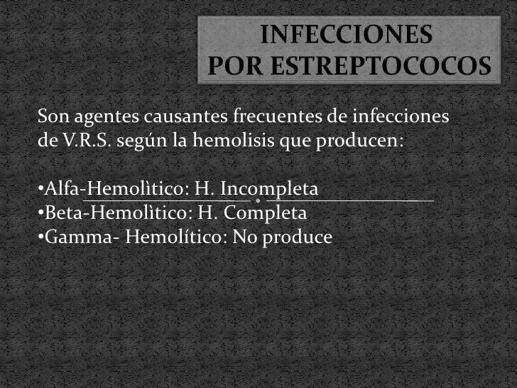 ESTREPTOCOCOS MICROAEROFILOS:•No son muy invasores•Provocan Infecciones:•Posparto•En V.R.I.•Peritoneales        ESTREPTOCO...