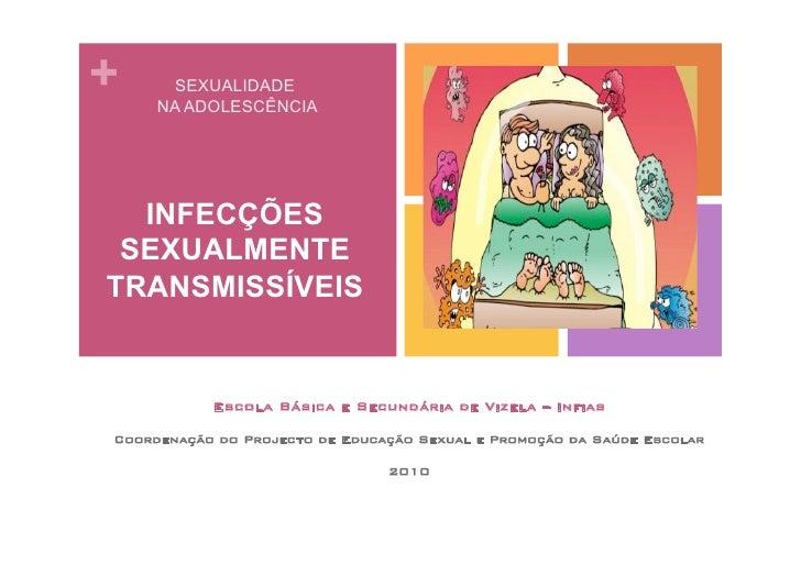 +      SEXUALIDADE     NA ADOLESCÊNCIA  INFECÇÕES SEXUALMENTETRANSMISSÍVEIS           Escola Básica e Secundária de Vizela...