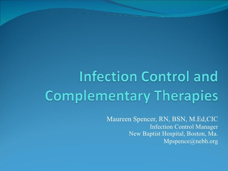 Infection control and energy medicine 092108    new york city