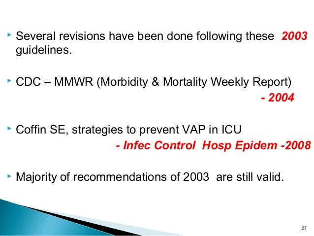 cdc guidelines for infection control in icu