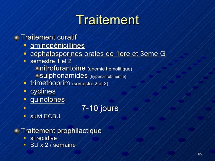 Infections urinaires final