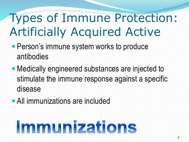Natural Immunity Occurs When A Person S Body