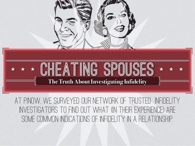 wife of cheating husband Wives, do you suspect your husband has another woman waiting for him at home while you are away this is a firsthand insight into how a cheating spouse operates.