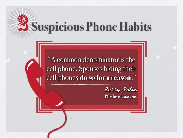 signs of cheating spouse cell phone
