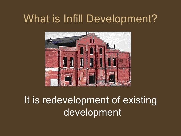 Infill Housing Development Denver Colorado 2007