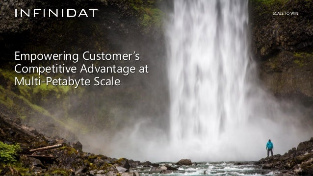 © 2019 Infinidat Proprietary and Confidential 1┃ SCALE TO WIN SCALE TO WIN Empowering Customer's Competitive Advantage at ...