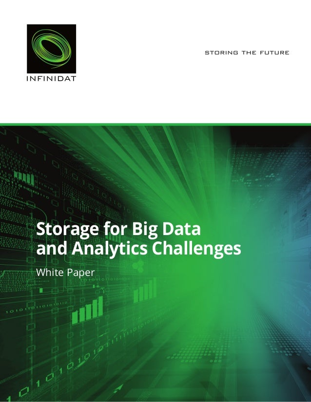 White Paper Storage for Big Data and Analytics Challenges