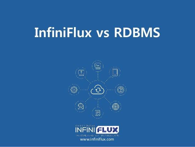 InfiniFlux vs RDBMS www.infiniflux.com