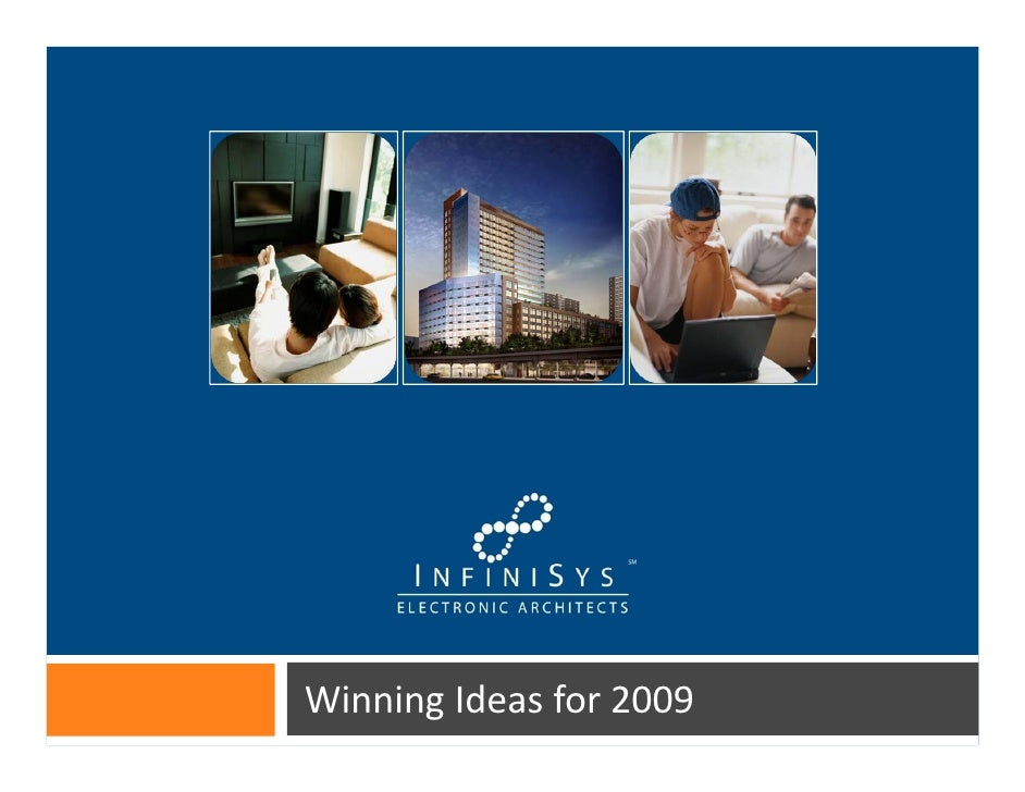 Winning Ideas for 2009