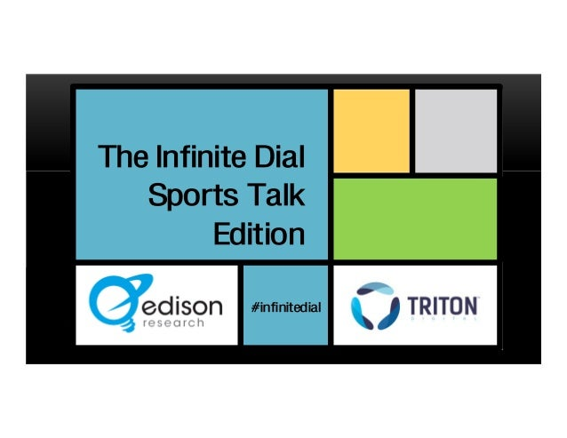 The Infinite Dial Sports Talk Edition #infinitedial