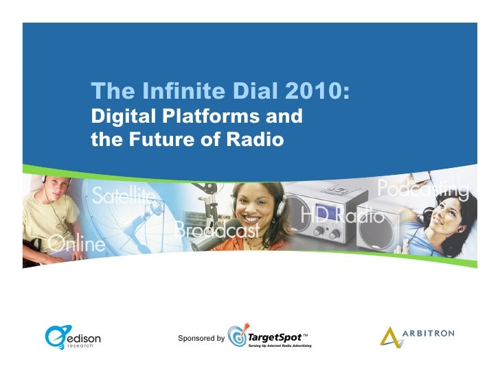 The Infinite Dial 2010: Digital Platforms and the Future of Radio             Sponsored by