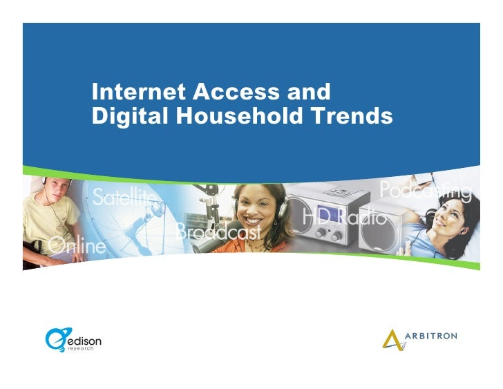 Internet Access and Digital Household Trends