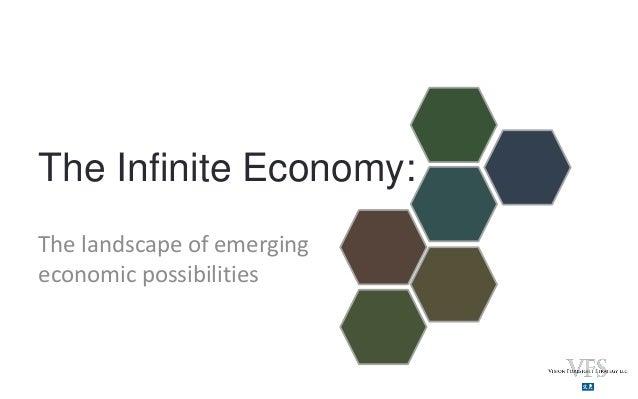 The Infinite Economy:The landscape of emergingeconomic possibilities