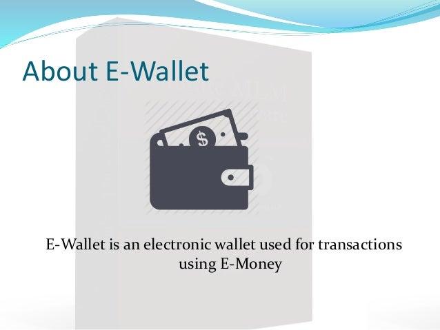 Infinite mlm software e wallet