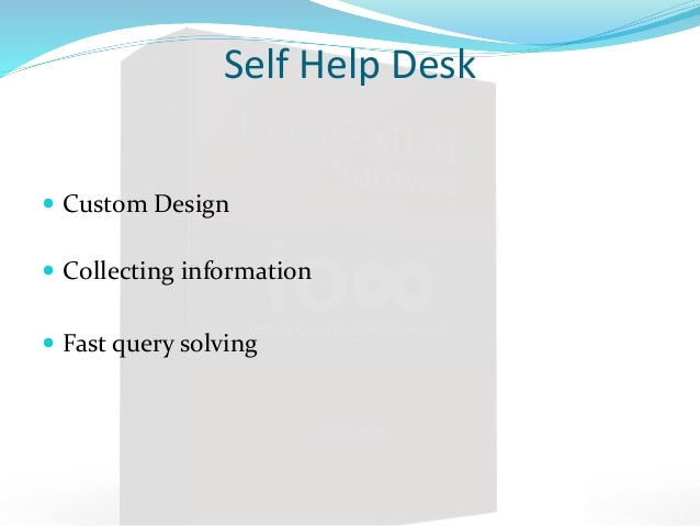 Captivating ... 7. Self Help Desk ... Pictures