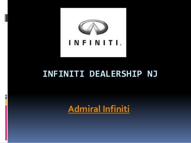 INFINITI DEALERSHIP NJAdmiral Infiniti