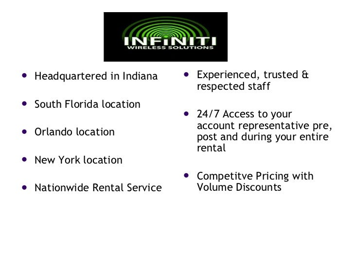 <ul><li>Headquartered in Indiana </li></ul><ul><li>South Florida location </li></ul><ul><li>Orlando location </li></ul><ul...